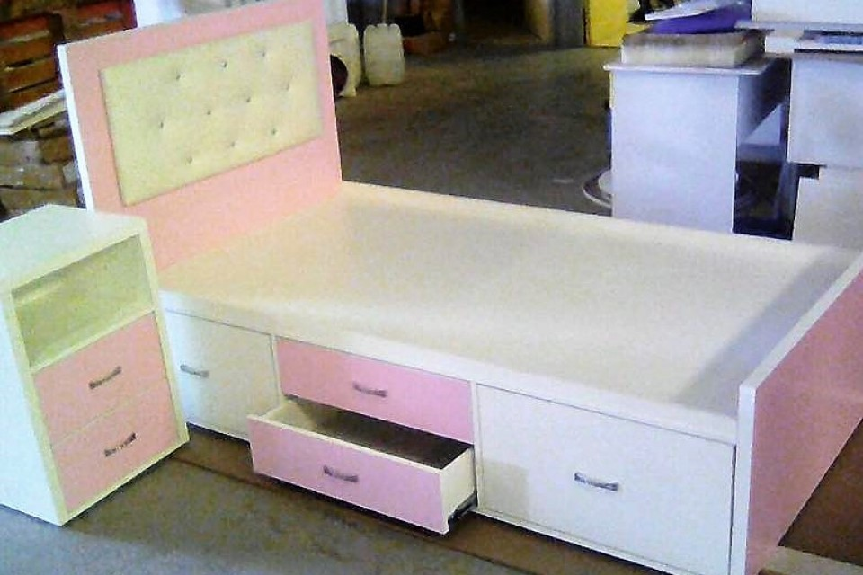 Storage Girls Bed Custom Made